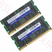 4Go 2x 2Go PC2-5300 DDR2 667MHz 200Pin SO-DIMM ordinateur portable RAM pour DATA