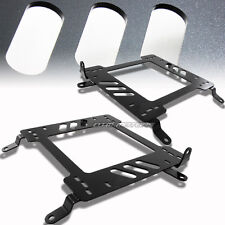 2 X Steel Planted Racing Seat Mount Bracket For 02-06 Mits. Lancer/EVO 7/8 CT9A