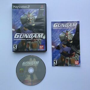 Mobile Suit Gundam Journey to Jaburo Playstation 2 PS2 CIB Complete Tested Good
