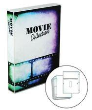 Blu-ray/DVD Movie Collection Travel Size Storage Binder, Holds 10 Movie Discs