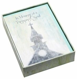C.R. Gibson 12 Count Boxed Sympathy Acknowledgement Cards