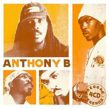 ANTHONY B - REGGAE LEGENDS (4CD BOX) 4 CD NEU