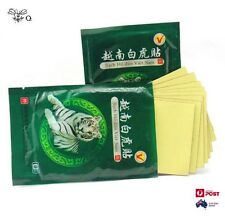 Tiger Balm Patchs Pain Relief Muscular Back Pain Natural & Effective X 8PCS