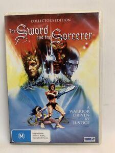 SWORD AND THE SORCEROR rare AU DVD cult 80s fantasy horror classic