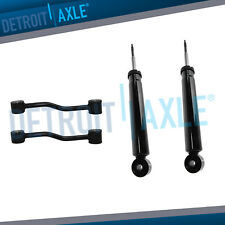 Both (2) New Front Shock Absorbers + (2) Front Sway Bar Links - Grand Cherokee