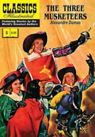 CLASSICS ILLUSTRATED  #1 THE THREE MUSKETEERS 1966 G+ Condition