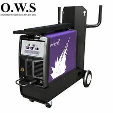 Parweld XTM252i 250A SYNERGIC MIG INVERTER w/ torch, reg, and leads SINGLE PHASE
