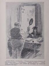 London & Cockney Life PAWNBROKER - GUTTERSNIPE & FRYIN PAN Antique Punch Cartoon