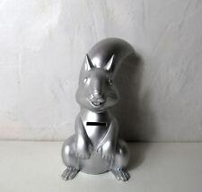 Tirelire écureuil Caisse d'Epargne Silver 21cm complet