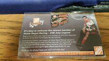 HOME DEPOT - APRON PIN - LAPEL PINBACK -HAT PIN - NASCAR JOEY LOGANO 2009