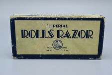 Vintage Imperial Rolls Razor with Original Box, Made in London, England.