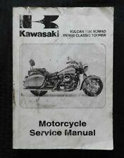 2011 KAWASAKI 1600 VULCAN NOMAD CLASSIC TOURER MOTORCYCLE SERVICE MANUAL