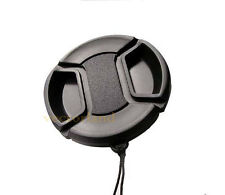 58mm Snap Lens Cap Cover for Canon Nikon Sony Olympus PENTAX Fuji Panasonic