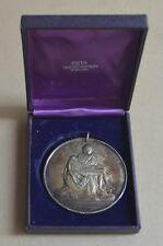 1964 PIETA Michelangelo New York World Fair Vatican Pavilion Sterling Silver Med