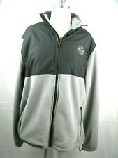 The Olympic Club US Open 2012 Men's Pullover Gear Full Zip Grey Gray Large