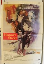 Hanover Street - Vintage Original Movie Poster with Harrison Ford