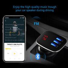 Car Kit Handsfree LCD MP3 Player Radio FM Transmitter Wireless Bluetooth USB/SD