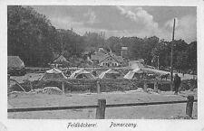 AK Feldbäckerei Pomorzany Postkarte Front Soldaten 1. WK Armee
