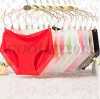 Women Soft Underpants Seamless Lingerie Briefs Hipster Underwear Panties