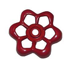 LASCO 01-5105 Metal Outside Faucet Hose Bibb Round Wheel Handle, 16 Point Broach