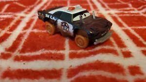 Disney Pixar Cars 3 Crazy 8 Crashers Vehicle - APB police car