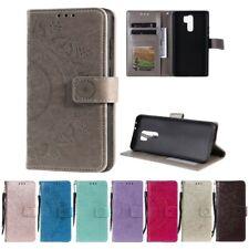 Hülle für Xiaomi Redmi 9 Handy Cover Flip Case Schutzhülle Handytasche Mandala