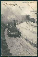Roma Anzio Treno cartolina QK3989