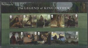 2021  The Legend of King Arthur Presentation Pack 598   - Ref:5603