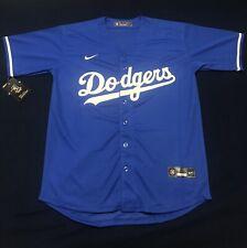 Los Angeles Dodgers Royal Blue Jersey No Name Fan Stadium Edition - Mens Medium