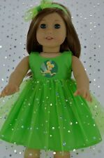 "Doll Clothes For 18"" American Girl~Our Generation~Journey SEQUIN DRESS~HEADBAND"