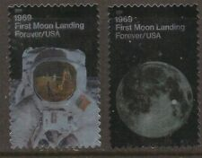 Scott #5399-5400 Used Set of 2, Moon Landing (Off Paper)