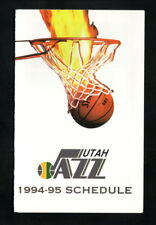 Utah Jazz--1994-95 Pocket Schedule--Coors Light