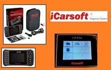 iCarsoft Diagnostic Tool / Scanner OBD - CR Plus  Covers 44 Vehicle Manufactures