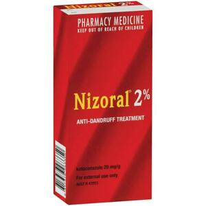 New 60ml Nizoral Anti-Dandruff Treatment Shampoo 2% By Pharmacy Medicine