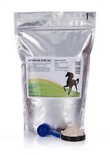 2kg Magnesium oxide - 88%•Mag Ox Calmer - Horse Equine supplement•
