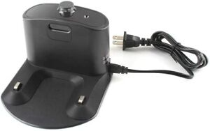 Integrated Home Base Charger, Dock Charger with Cord and Plug For iRobot Roomba