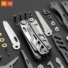 Couteau multi-fonction pliant décapsuleur tournevis pinces acier inoxydable