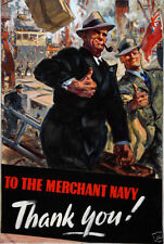 Navy 1914-1945 Collectable WWII Military Prints