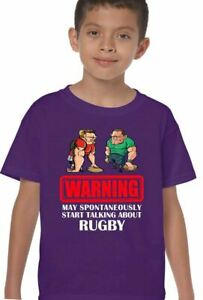 Talking About Rugby Boys Funny T-Shirt World Cup England Scotland Wales Ireland