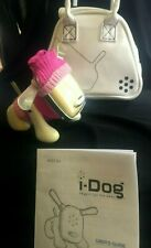 HASBRO TIGER I-DOG WHITE IN I-DOG CARRYING CASE AND PINK OUTFIT