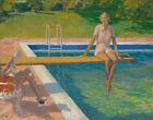 Sir John Lavery The Viscountess Castlerosse Palm Springs Canvas Print   # 9164
