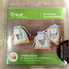 Cricut Bits and Pieces  Cards Tags Labels Cartridge 2002577 NEW #30