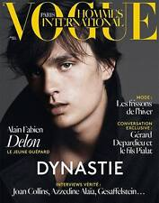 VOGUE Hommes International,Alain Fabien Delon,Clement Chabernaud FRENCH NEW