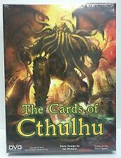 The Cards of Cthulhu by DVG DV1-029 NEW Box Set