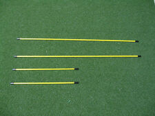 Fiberglass - Golf Alignment sticks, used by pros- swing plain and putting gate