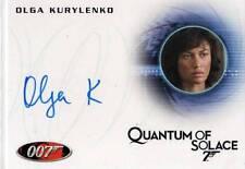 Olga Kurylenko ++ Autogramm ++ James Bond Ein Quantum Trost ++ Max Payne