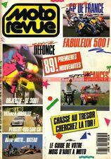 MOTO REVUE 2858 VINCENT 1000 KAWASAKI Godier Genoud ZR 1100 turbo YAMAHA YZ 125