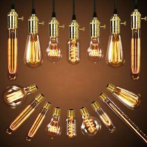 E27 40W Vintage LED Edison Bulb Filament Light Home Decotion Lamp Warm White RC