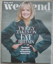 Twiggy - Daily Mail Weekend magazine – 18 October 2014