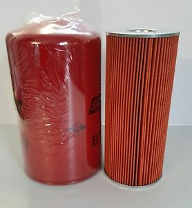 Fiat 650 Tractor - Oil and cartridge fuel Filter